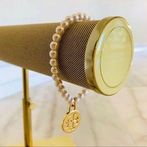 🎁 New Tory Burch Charm on Stretch Bangle Bracelet